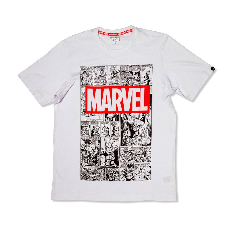 CAMISETAHOMBREMARVELCOMICS-BLANCO-230473